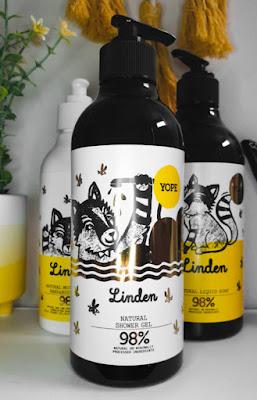 YOPE Linden Natural Shower Gel