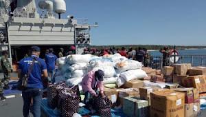TNI AL kirimkan bantuan 20 Ton untuk NTT
