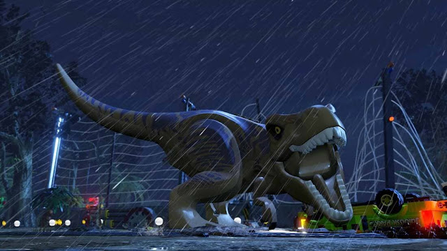 Imagem do LEGO: Jurassic World