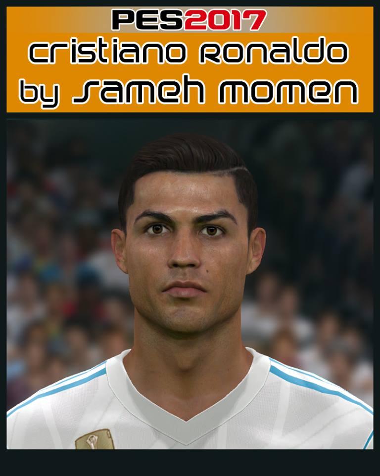 PES 2017 Cristiano Ronaldo face by Sameh Momen