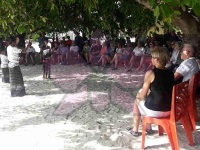 104 Wisatawan dari Kapal Pesiar MV Silver Discoverer Kunjungi Matakus