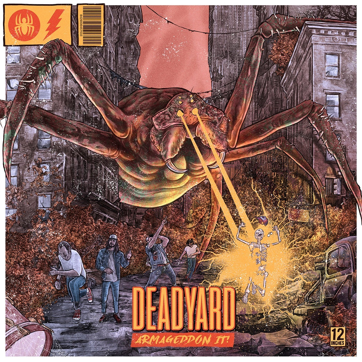Deadyard Armaggedon It cover art
