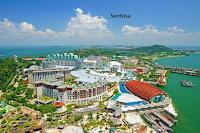 Sentosa island,Sentosa resort park,universal studio,sentosa beach