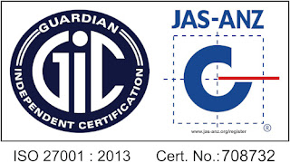 ISMS certified for ISO 27001:2013 Conformity