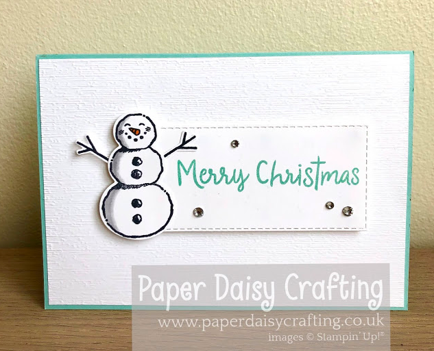 Nigezza Creates with Stampin' Up! & Paper Daisy Crafting & Snowman Season