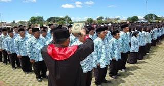 RESMI! Ratusan Honorer K2 Diangkat Jadi PNS, Begini Pesan Pak Wali Kota