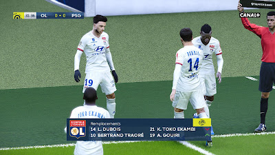 PES 2020 Scoreboard Ligue 1 by Overall