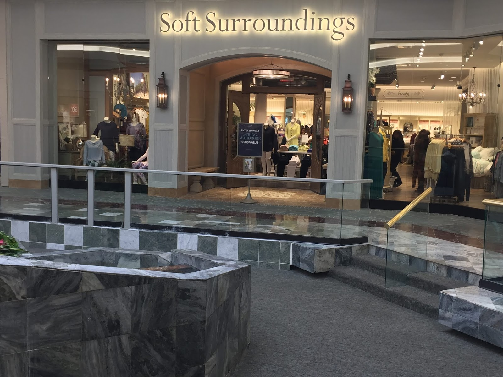 Soft Surroundings Grand Opening Lakeside Shopping Center
