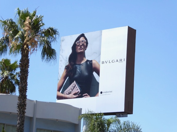 Bvlgari Sunglass Hut Summer 2017 billboard