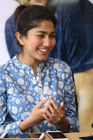 Sai Pallavi looks super cute in plain dress at her interview in Telugu about movie Fidaa ~ Exclusive Celebrities Galleries 053.JPG