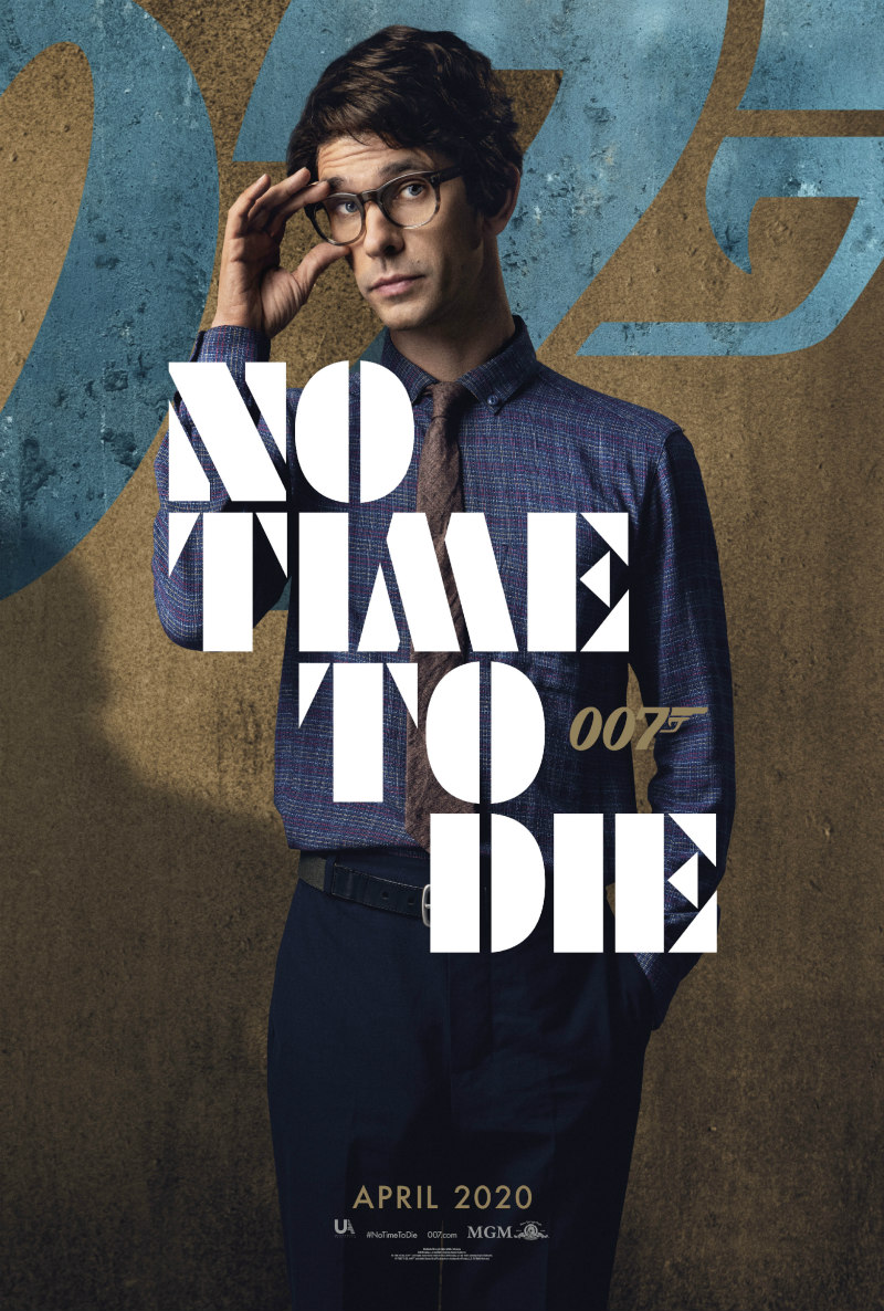 no time to die poster ben whishaw