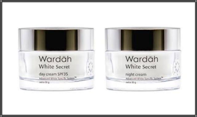 Review Pengalaman Pakai Wardah White Secret Night Cream dan Day Cream
