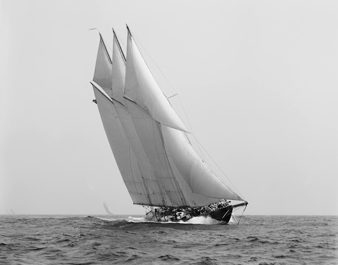Atlantic (1905) Trans - Atlantic sailing record
