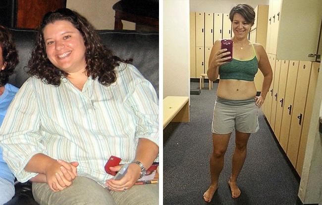 Antes e Depois do Emagrecimento