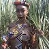 Photo of a Zulu Female Warrior