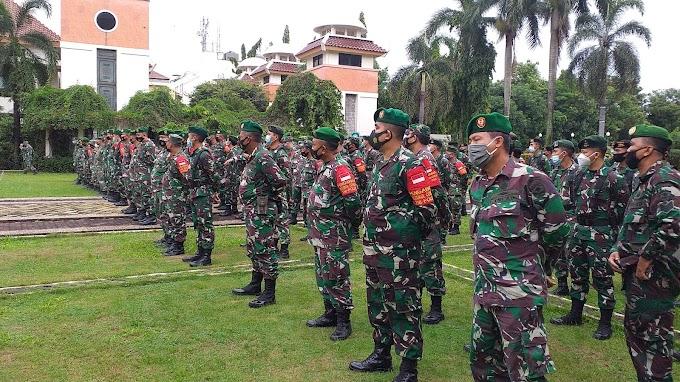 450 Personil Kodim Depok Siap Amankan Pilkada 9 Desember 2020
