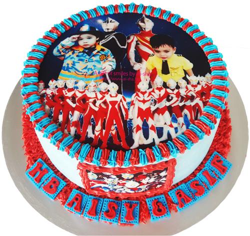 Birthday Cake Ultraman Aisha Puchong Jaya