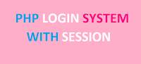 how to create a php complete login system with session using mysql database