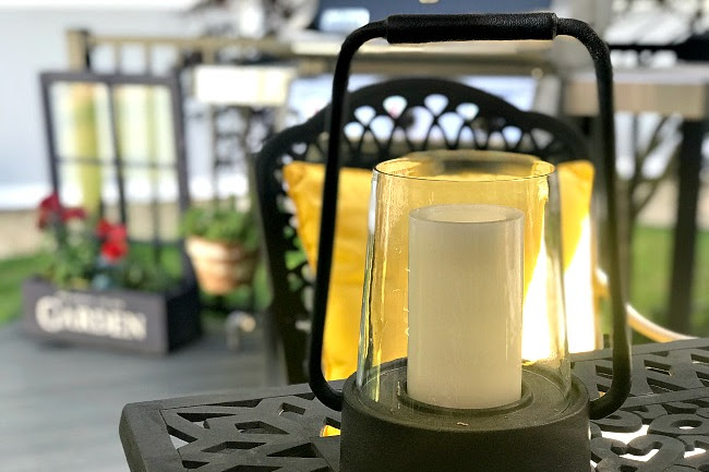 Make a Repurposed Lantern Planter