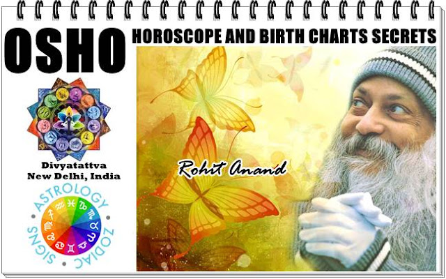 osho horoscope, osho kundli, osho sun sign,osho astrological analysis, osho birth charts