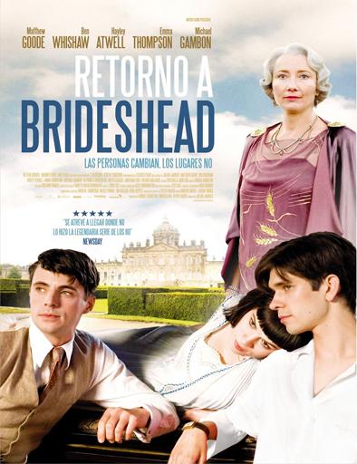 Poster de Regreso a la mansión Brideshead