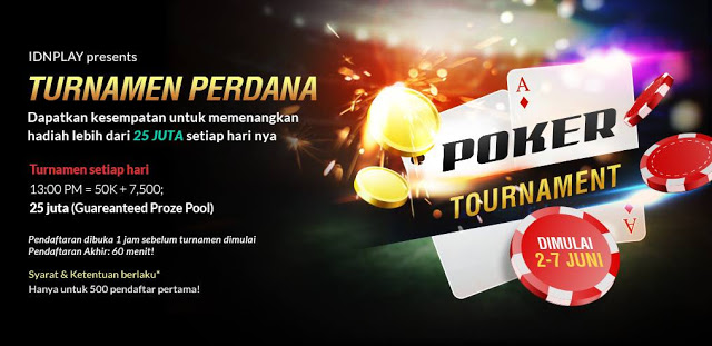 Turnamen Poker IDN Perdana Indonesia