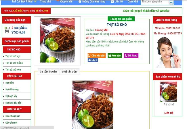 Bài viết Theme blogspot bán hàng đẹp