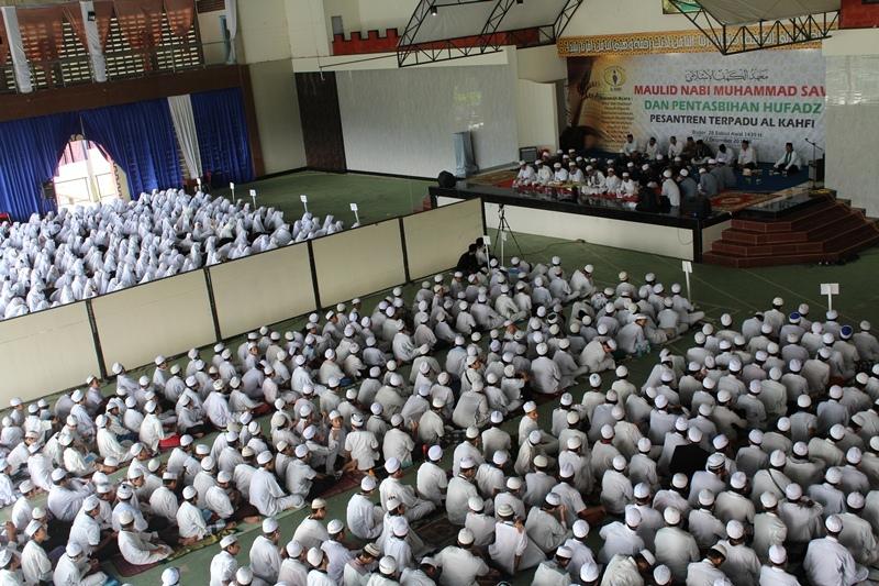 Perayaan maulid nabi Ponpes Al Kahfi