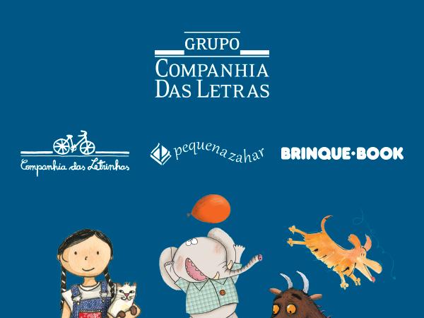 A Brinque-Book agora faz parte do catálogo do Grupo Companhia das Letras