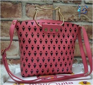 Elegant PU Sling Bag Cum Handbag For Women