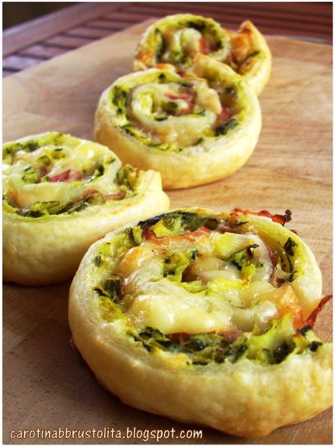 girelle di zucchine, formaggio e speck
