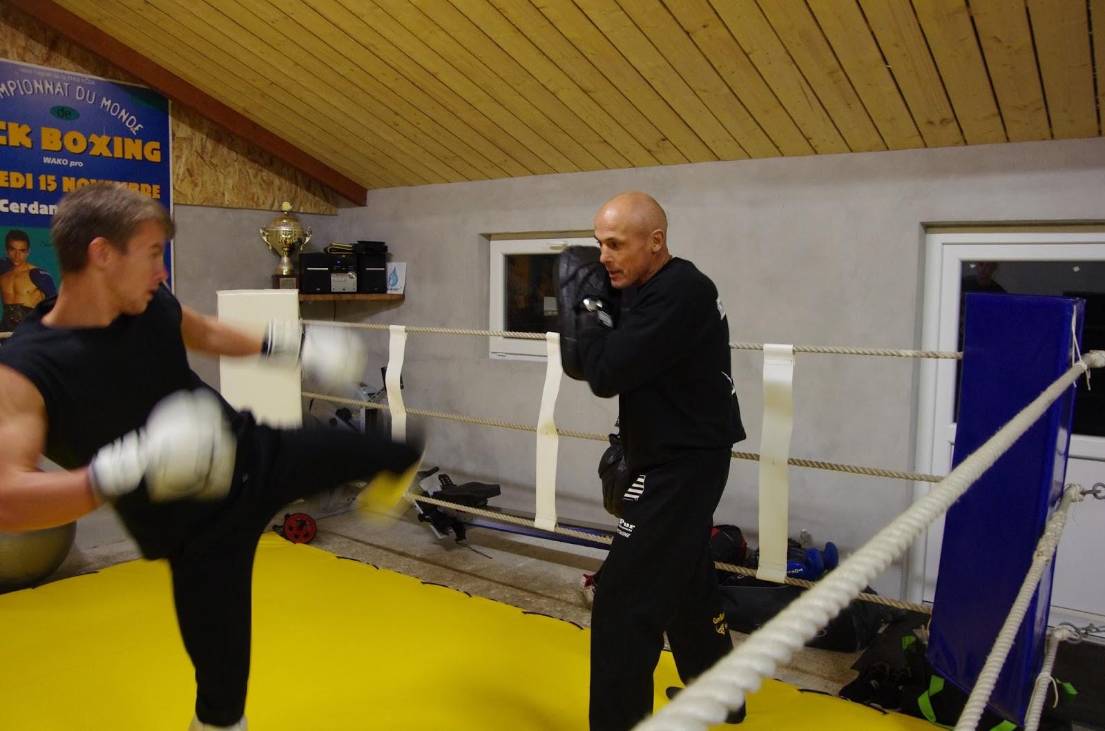 kick boxing ouverture de la nouvelle salle du boxing club