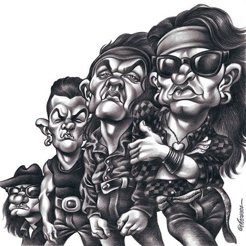 """""""Heroes del Silencio"""" por Joan Vizcarra"""
