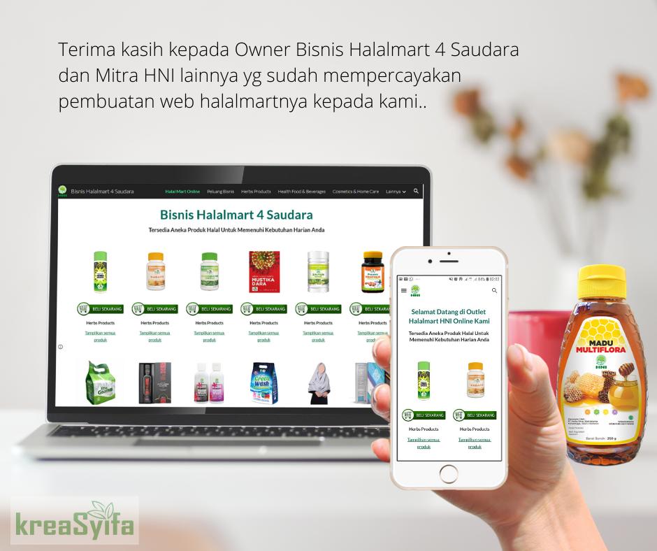 Kumpulan Gambar Promosi Web HNI Halal Mart