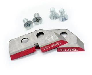 Ножі для льодобуру Тонар 130 з покращеною кромкою
