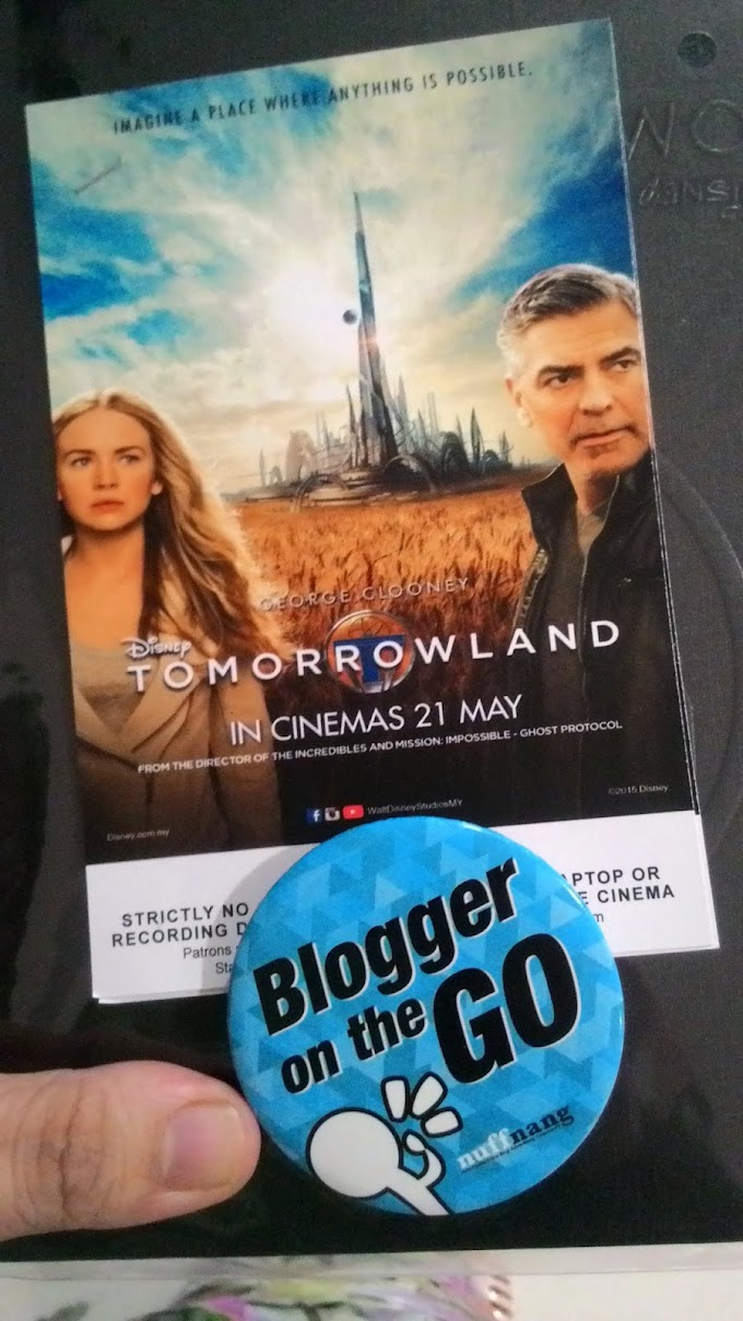 Movie Review : Tomorrowland