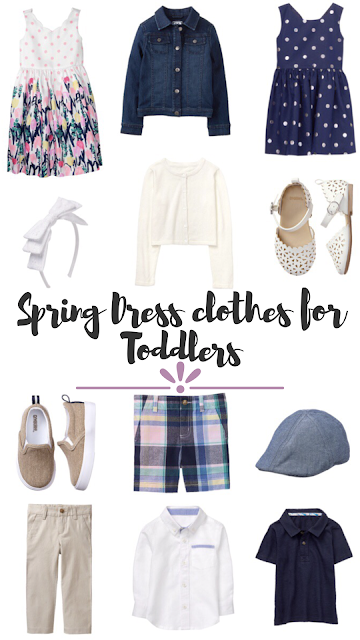 Thrifty Wife, Happy Life- Spring Dress Clothes for Toddlers from Gymboree #followyourart