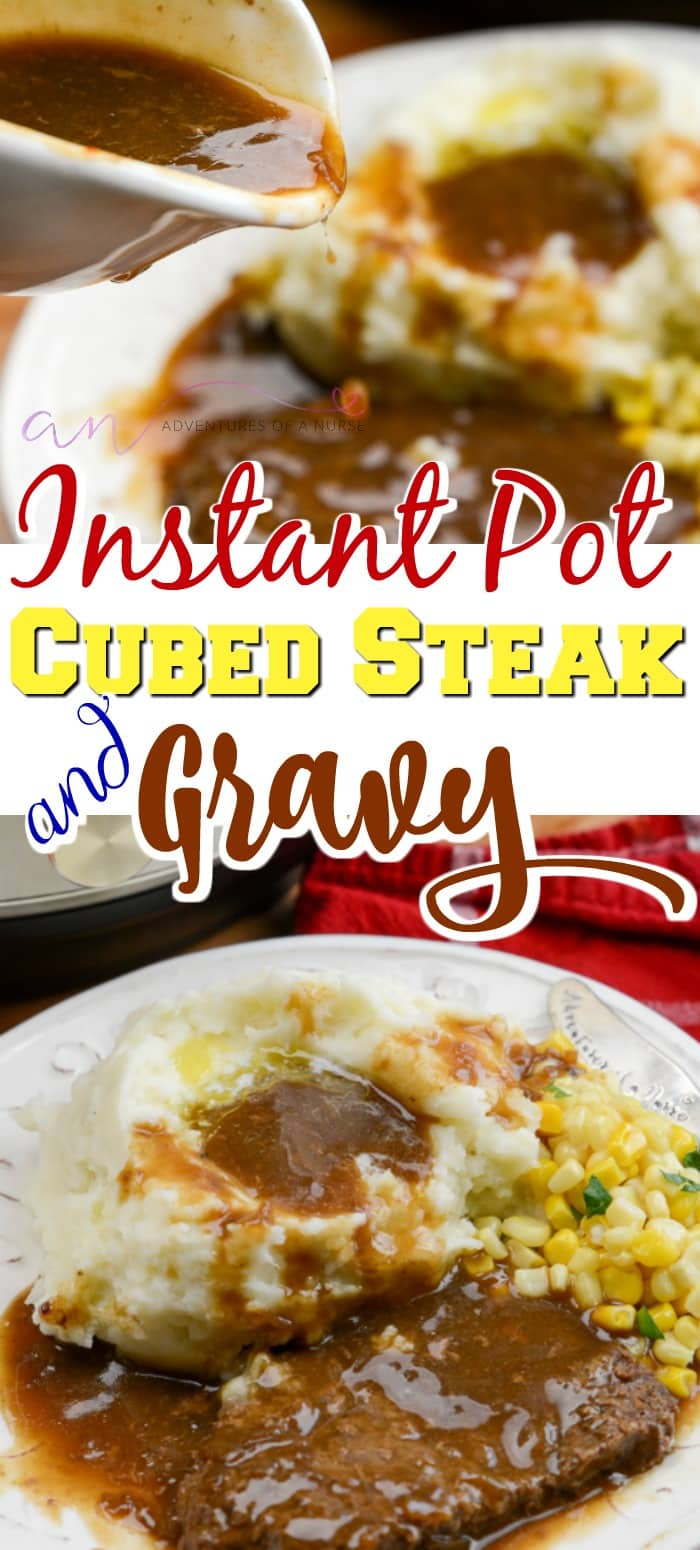 Instant Pot Cubed Steak and Gravy Recipes
