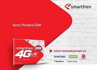 Cara Setting APN Smartfren 4G GSM Tercepat Ngebut 2019