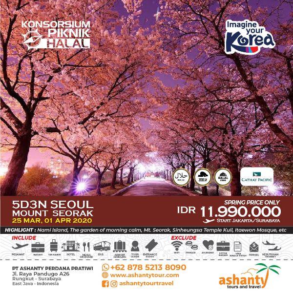 paket wisata korea dari surabaya
