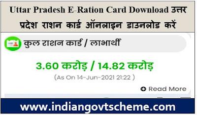 Uttar Pradesh E-Ration Card Download