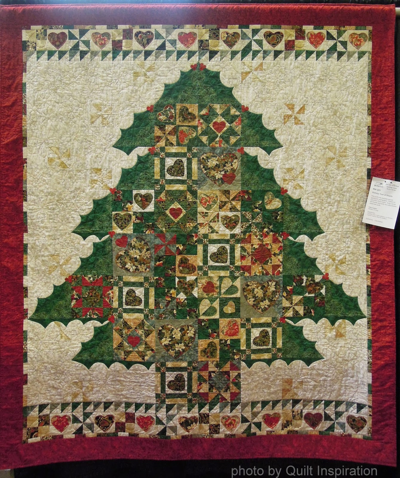 Lighting Of Christmas Tree 2014: Quilt Inspiration: Happy (quilted) Holidays! The Best Of