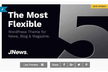 Download Theme Wordpress Newspaper Magazine Blog AMP