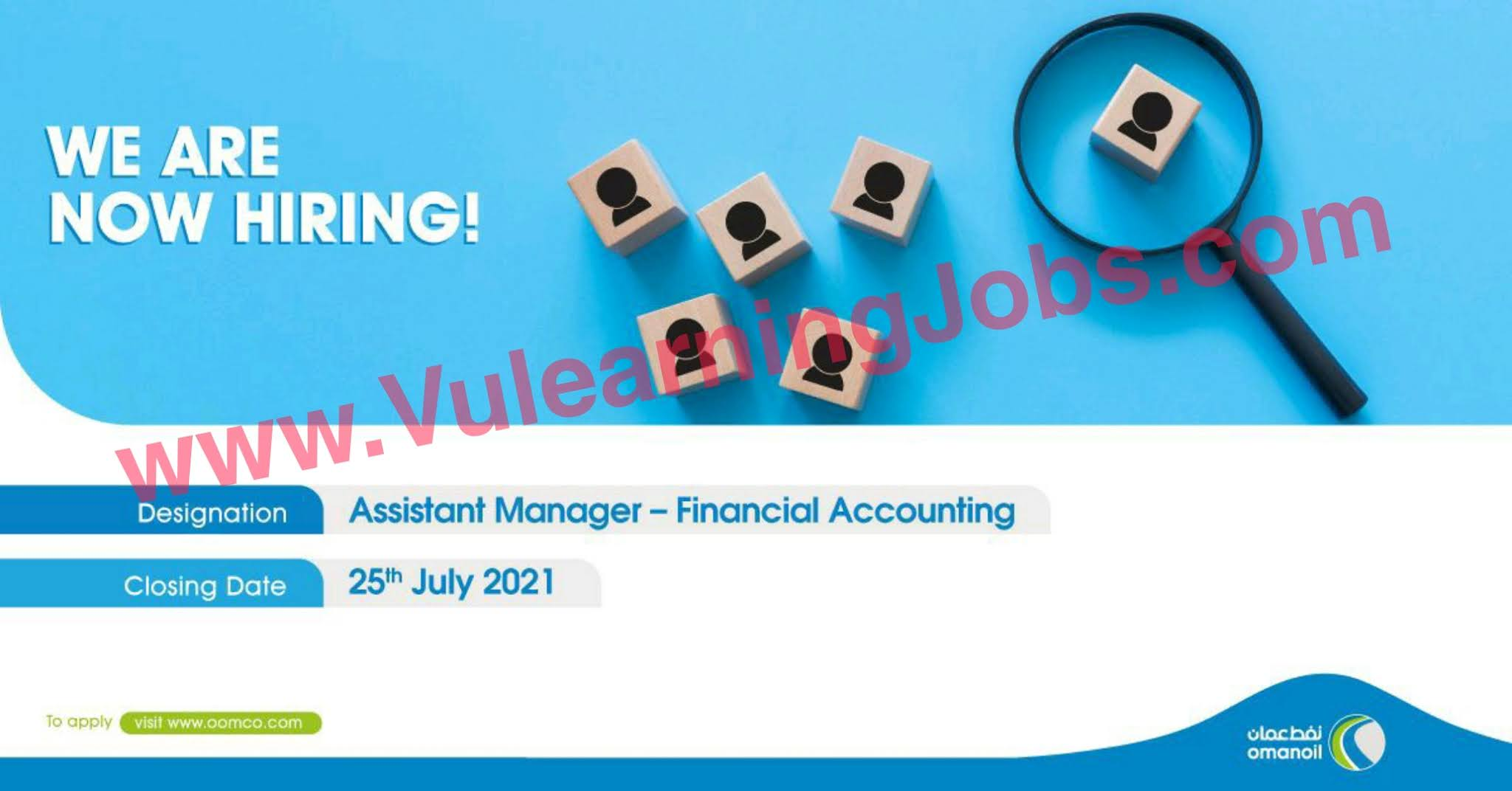 Oman Oil Marketing Company Jobs July 2021 Assistant Manager Latest