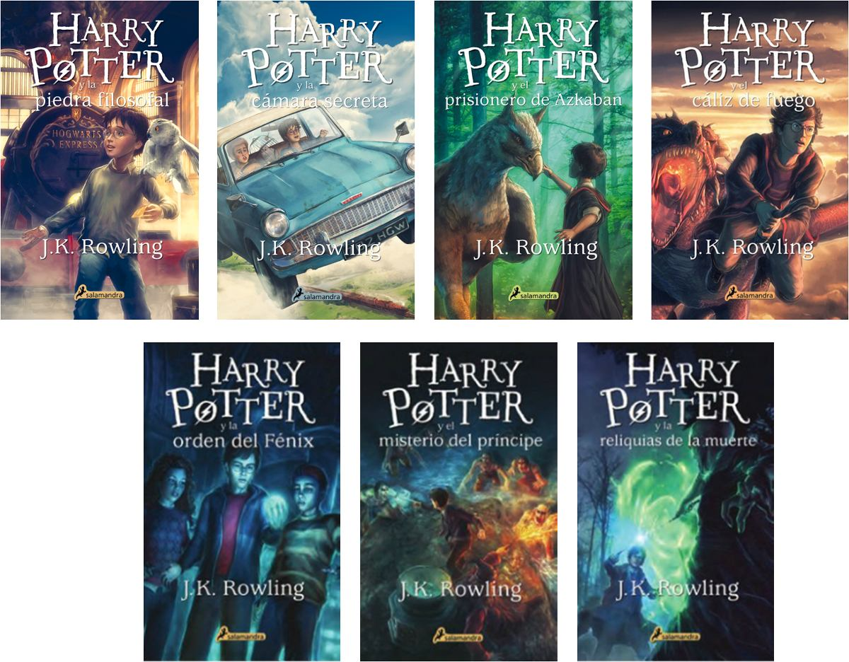 Descargar Libros De Harry Potter Elige Un Libro: ¿en Qué Orden Leer A Harry Potter?