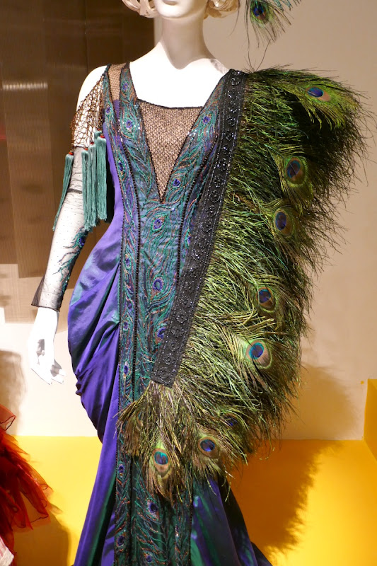Dumbo Colette Marchant peacock feather costume