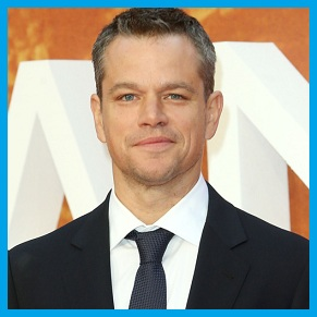 Matt Damon, Pemeran Utama Film Jason Bourne