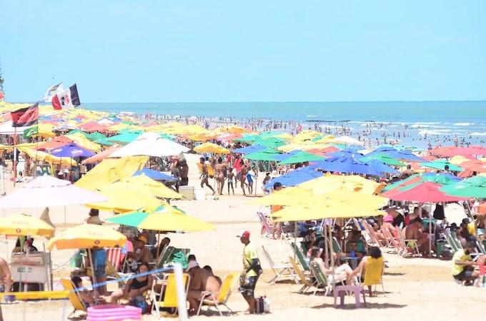Comércio de praia será retomado aos finais de semana em Pernambuco