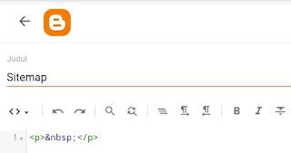 tampilan awal HTML