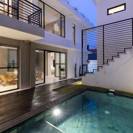 Modern villas elegant view design